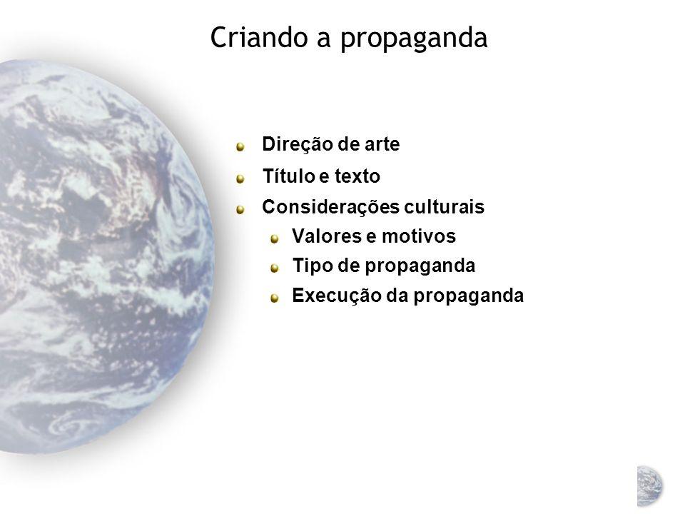 Apelos de propaganda e características de produto O apelo mais eficaz pode variar Os produtos podem estar em diferentes estágios de seu ciclo de vida