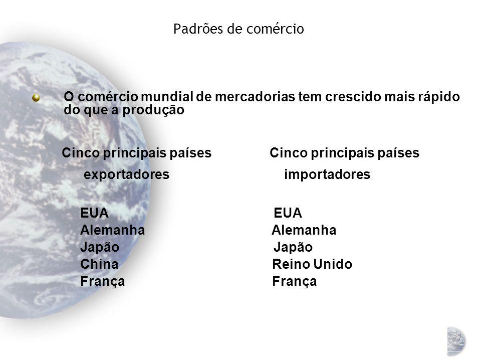 Balança de pagamentos Um registro de todas as transações econômicas entre os residentes de um país e o restante do mundo Registros de estimativa de ca