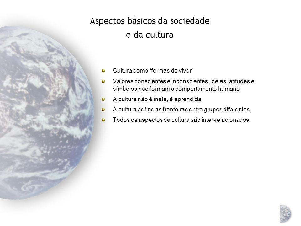 Marketing Global Ambiente Social e Cultural