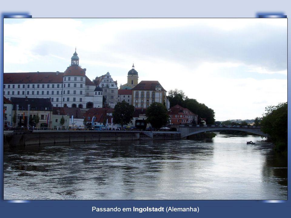 O Danúbio em Ulm (Alemanha)