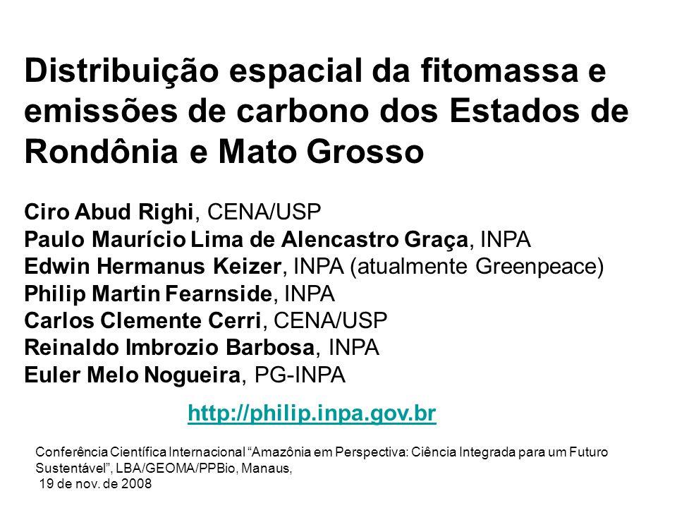 Fonte: INPE PRODES Digital, 2004. Desmatamento 2002/2003 Desmatamento até 2002