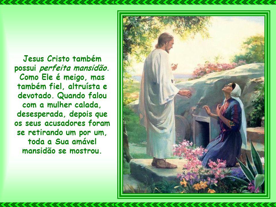 A perfeita humildade de Jesus Cristo é extremamente amável. Ele, o único que poderia ter escolhido como desejava nascer, entrou nesta vida como um den