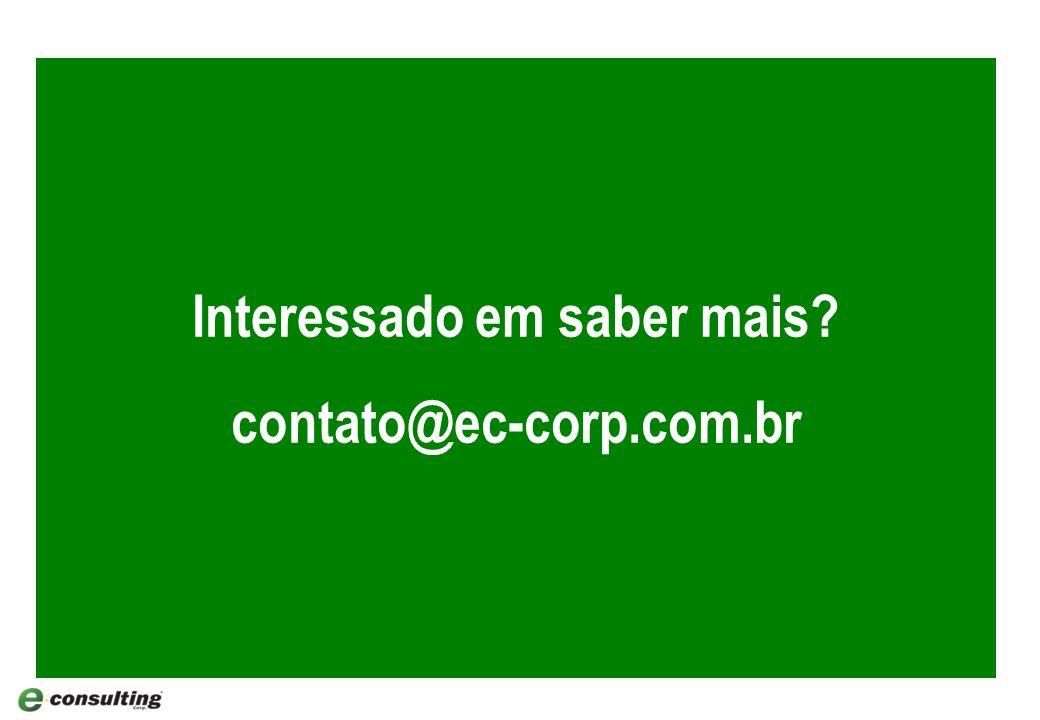 Interessado em saber mais contato@ec-corp.com.br