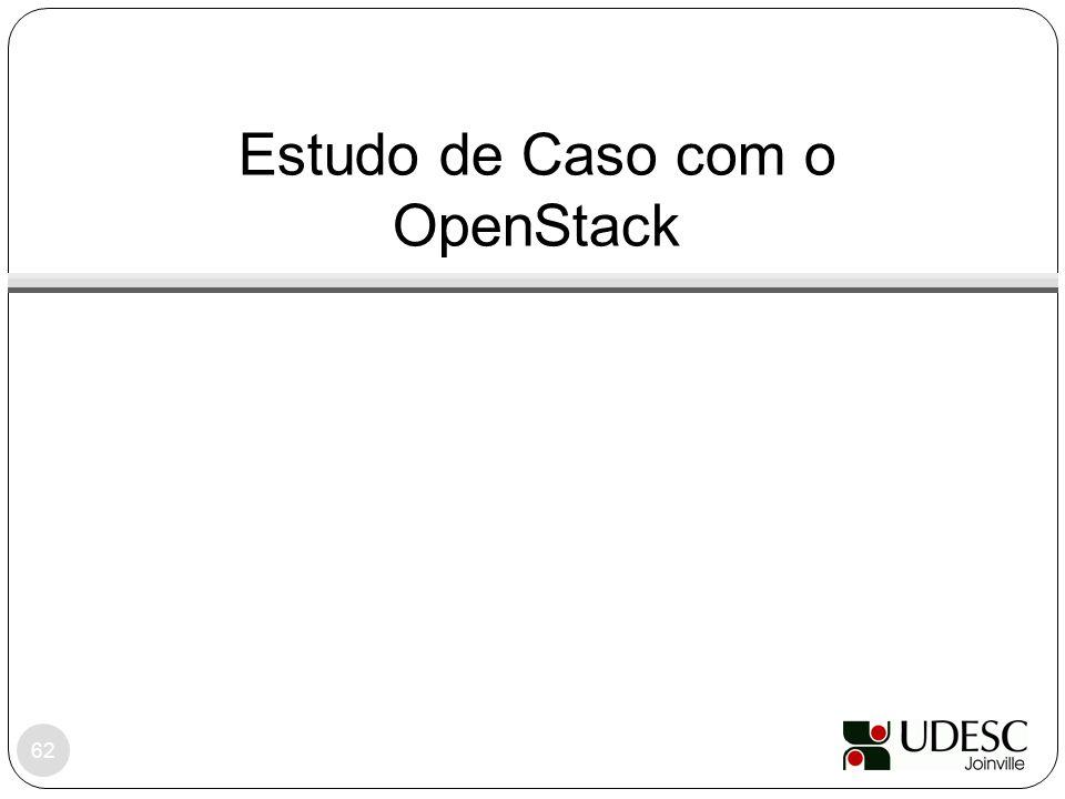 Estudo de Caso com o OpenStack 62