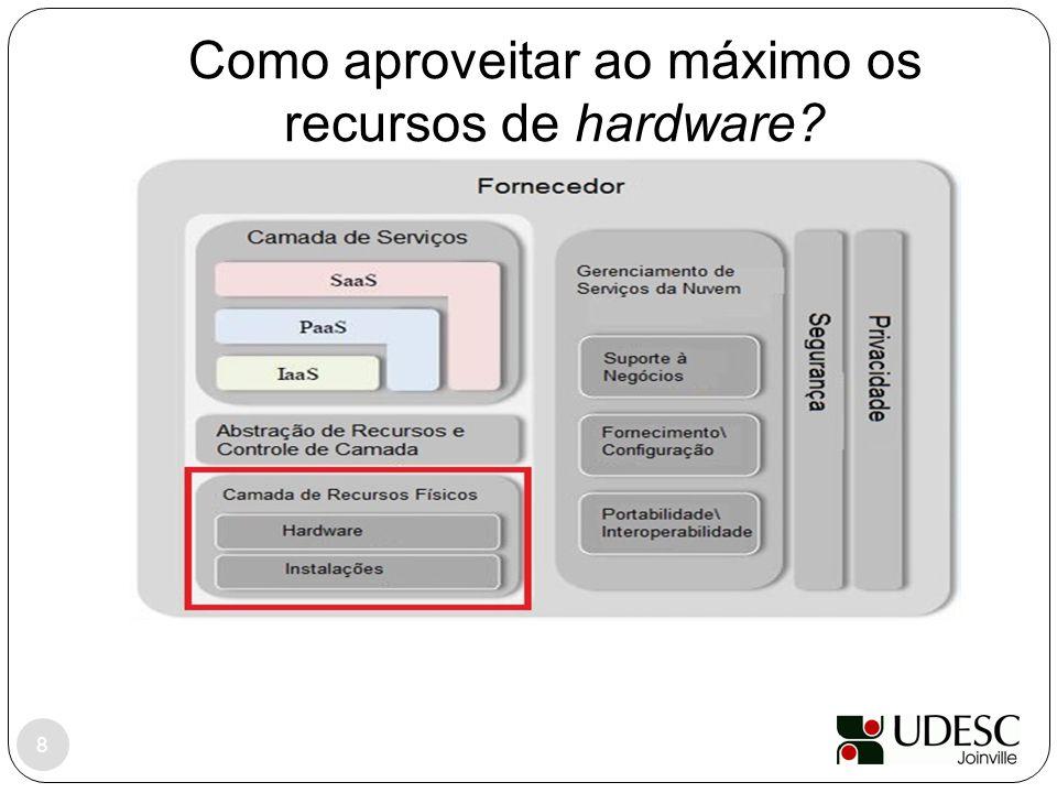 Como aproveitar ao máximo os recursos de hardware? 8
