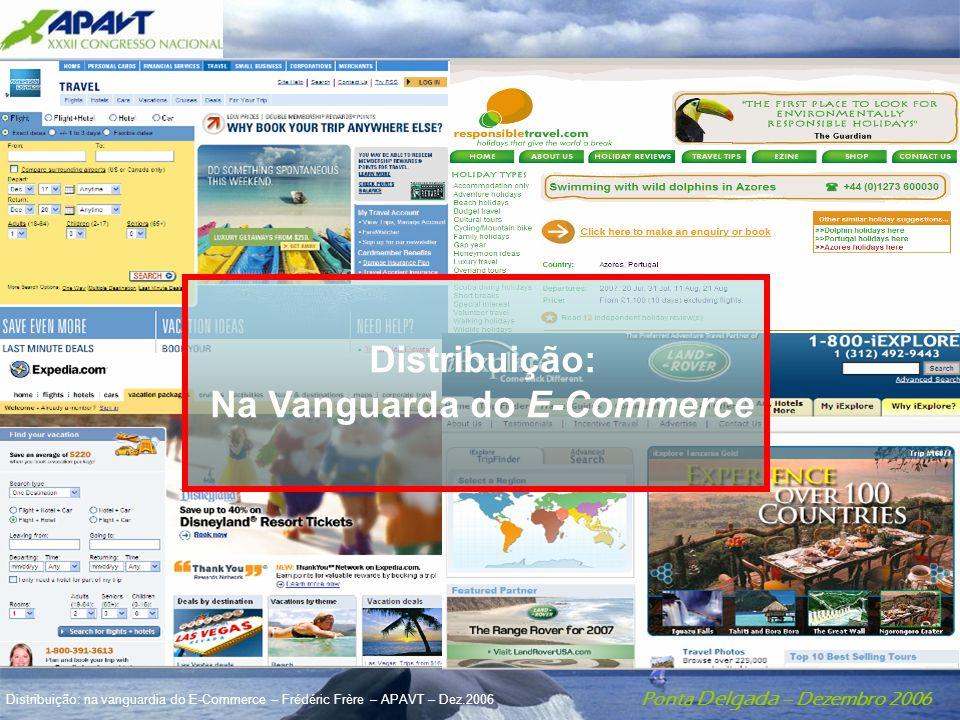 Ponta Delgada – Dezembro 2006 Distribuição: na vanguardia do E-Commerce – Frédéric Frère – APAVT – Dez.2006 Distribuição: Na Vanguarda do E-Commerce