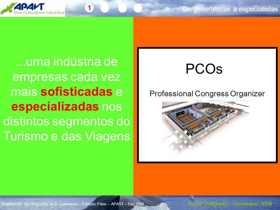 Ponta Delgada – Dezembro 2006 Distribuição: na vanguardia do E-Commerce – Frédéric Frère – APAVT – Dez.2006 Ainda agentes??...