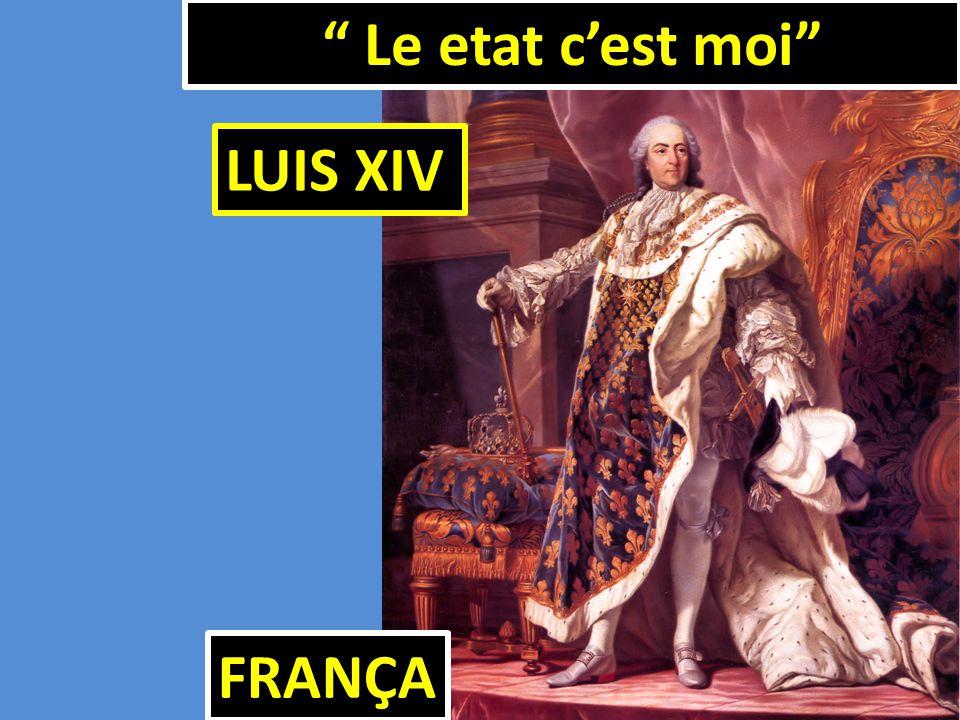"""FRANÇA """" Le etat c'est moi"""" LUIS XIV"""
