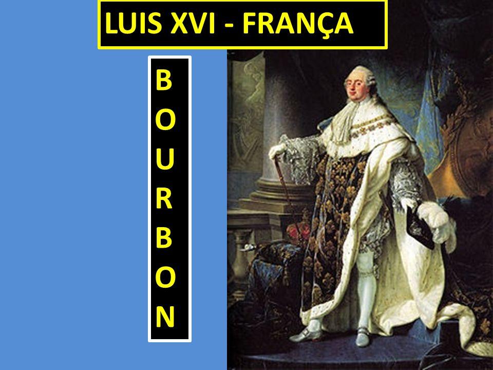 BOURBONBOURBONBOURBONBOURBON LUIS XVI - FRANÇA