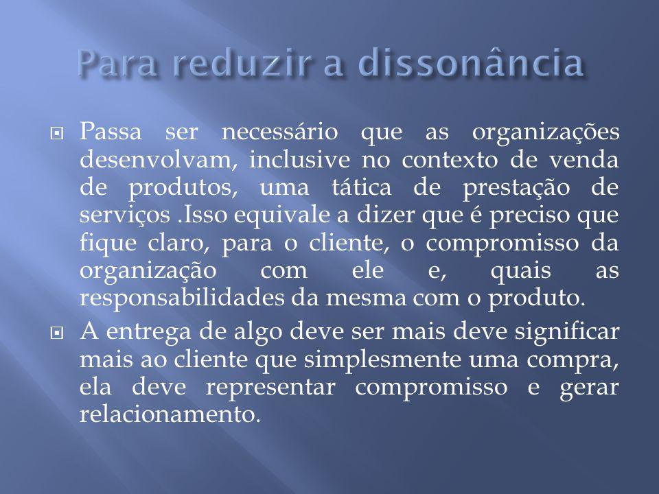  Segundo Giglio (2002:168) as organizações devem cuidar dos benefícios obtidos.