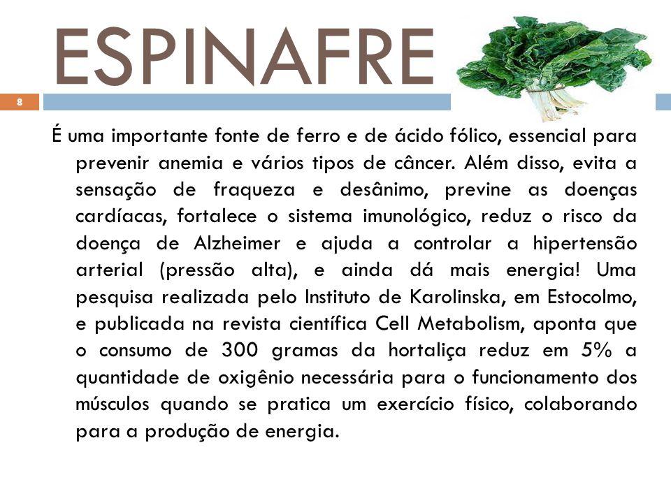 CEBOLA É rica em vitamina C, enxofre e no oxidante quercitina. Por isso, é ótima para prevenir asma e outras doenças inflamatórias.