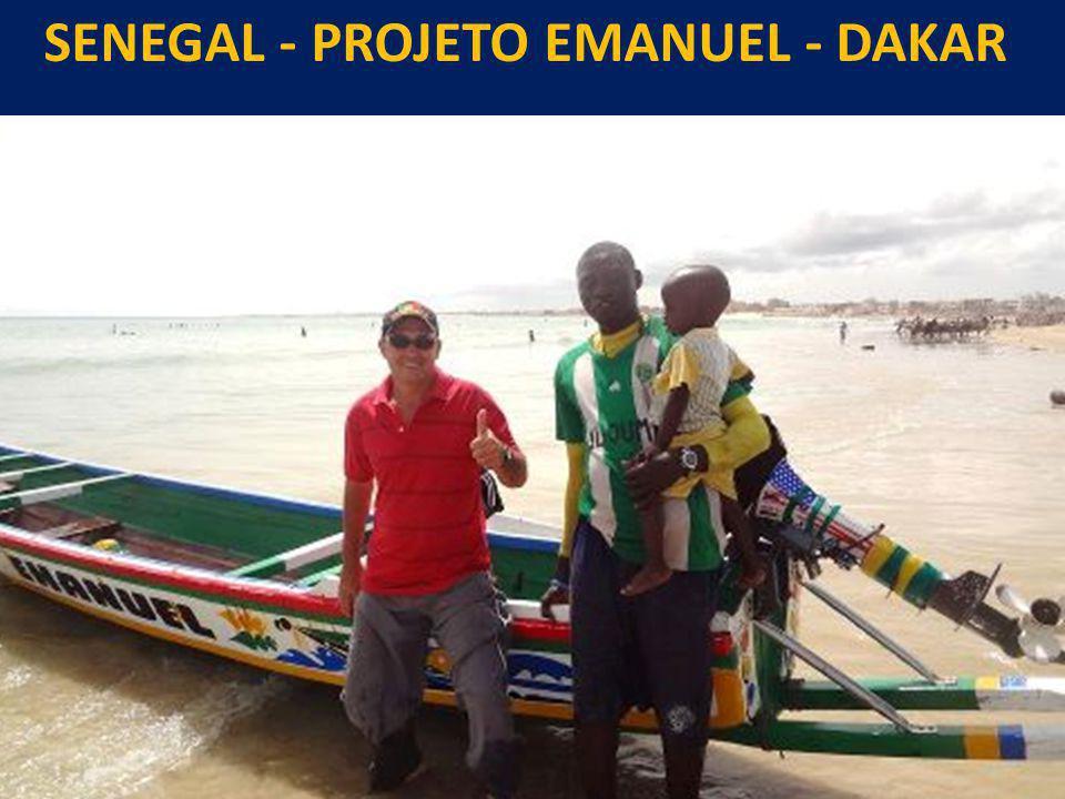 SENEGAL - PROJETO EMANUEL - DAKAR