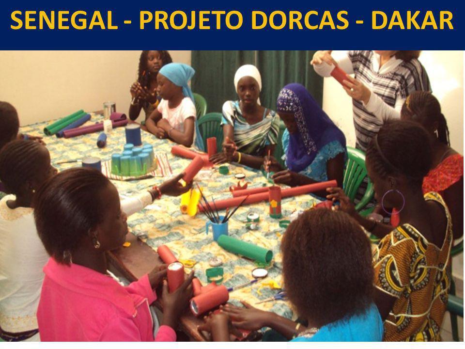 SENEGAL - PROJETO DORCAS - DAKAR