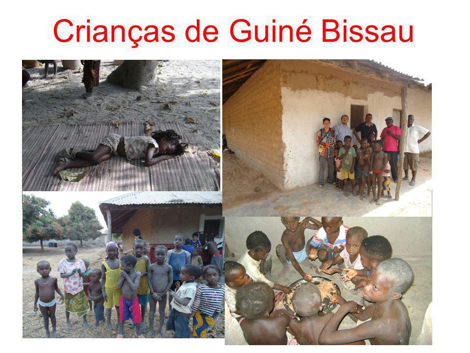 Crianças de Guiné Bissau