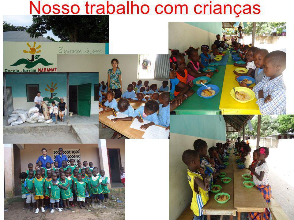 Nosso trabalho com crianças