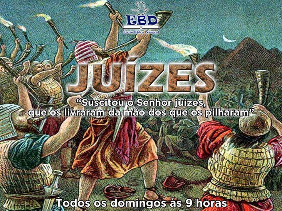 Apêndices do livro de Juízes O conteúdo desta seção final do livro de Juízes difere bastante do resto do livro.
