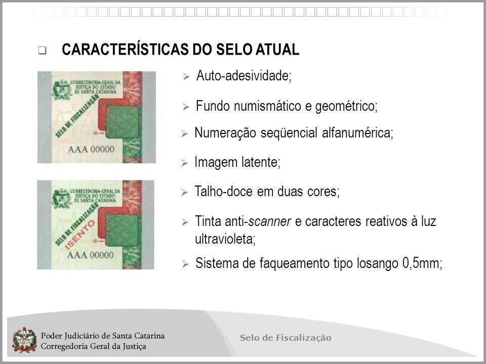 Selo de Fiscalização SELO DIGITAL DE FISCALIZAÇÃO SOLUÇÃO: