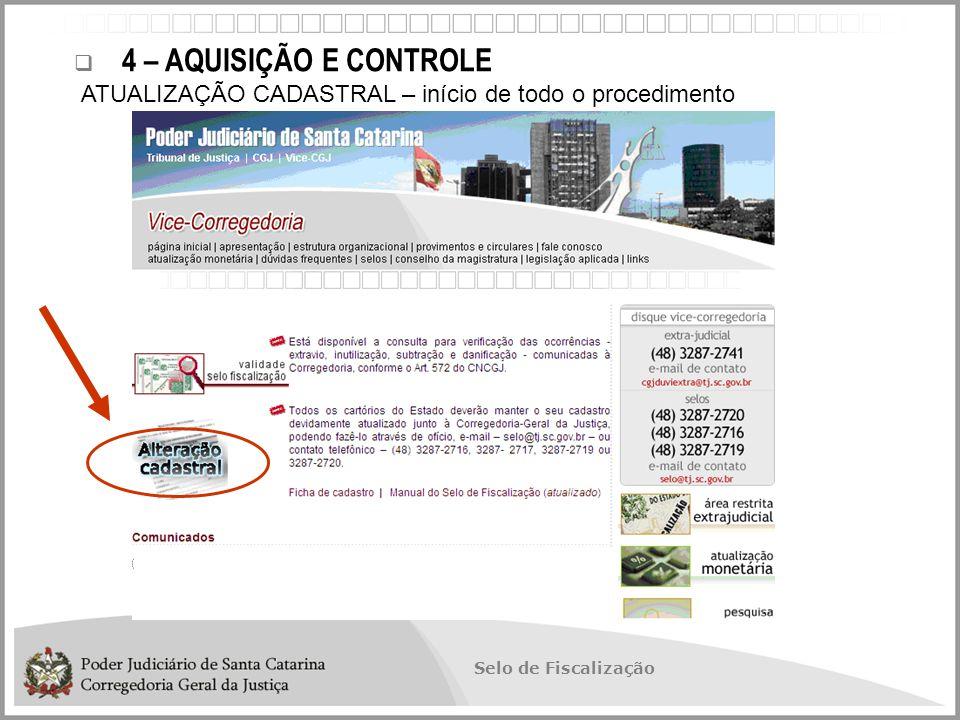 Selo de Fiscalização  Necessidade de um Software de Automação INFORMATIZAÇÃO  SAE - Sistema de Automação do Extrajudicial  Porque não continuar com o projeto.