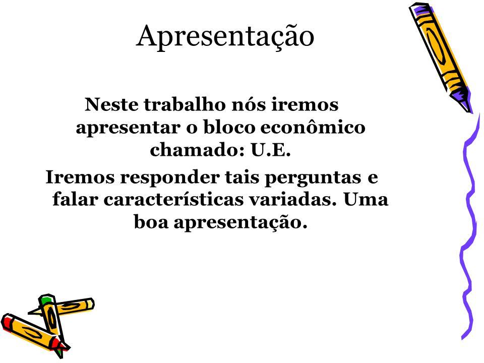 Pergunta 5: 5 – Apresentar com suas relações econômicas estão estruturadas com outros países especialmente o Brasil.