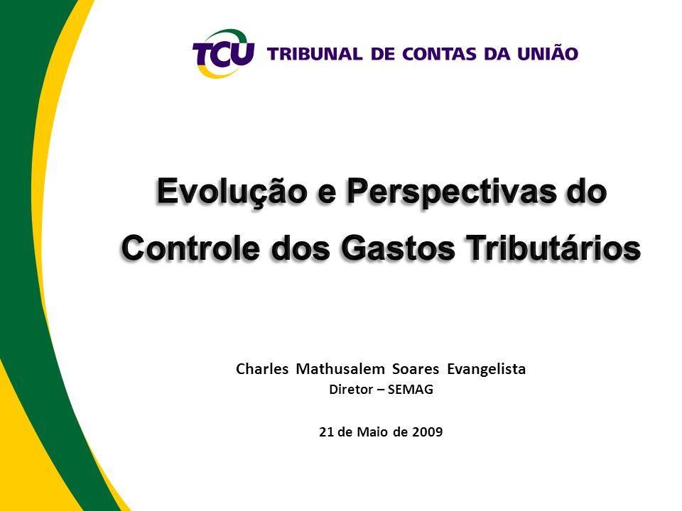 Charles Mathusalem Soares Evangelista Diretor – SEMAG 21 de Maio de 2009