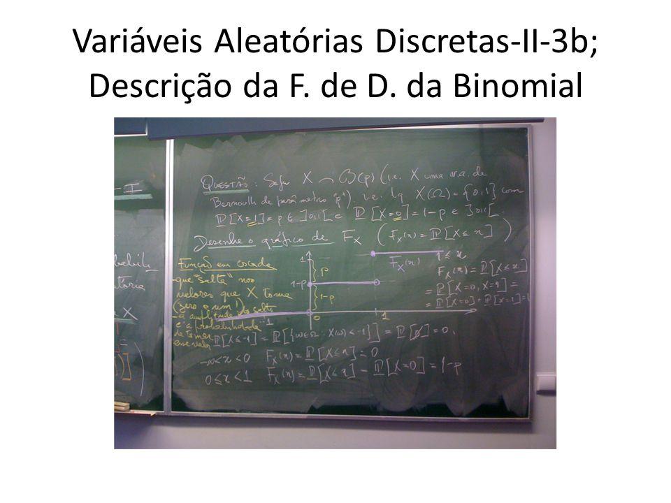 Variáveis Aleatórias Discretas-II-4; Valor Esperado de uma VA discreta