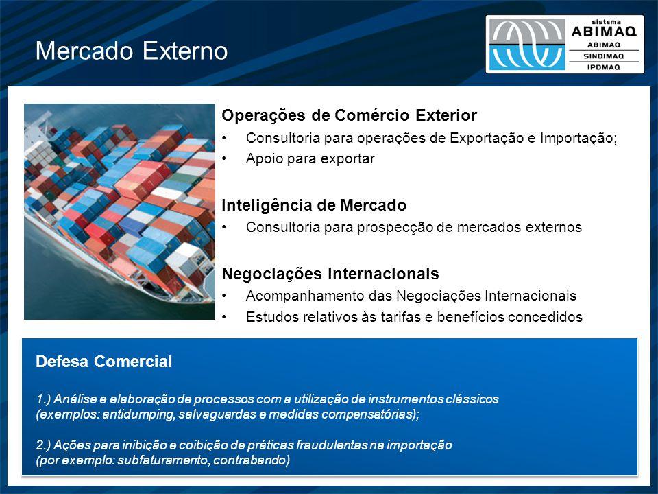 Mercado Externo Operações de Comércio Exterior Consultoria para operações de Exportação e Importação; Apoio para exportar Inteligência de Mercado Cons
