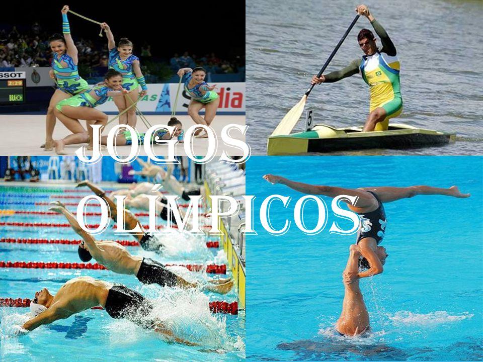 * Os jogos olímpicos ocorrem de quatro em quatro anos.