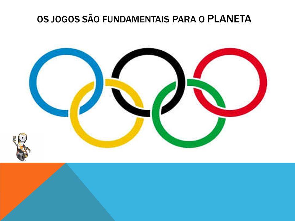 * Você foi convidado para realizar uma palestra sobre os jogos olímpicos e precisa explicar a importância deste evento para o mundo.