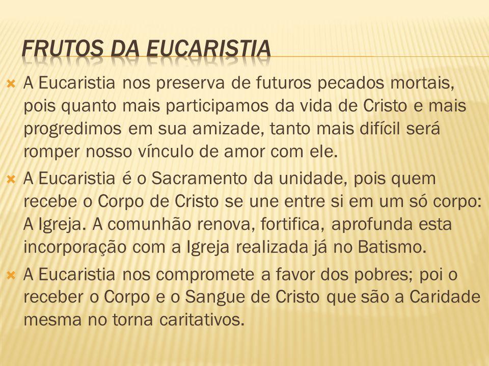  A Eucaristia é, acima de tudo, um sacrifício: sacrifício da Redenção e ao mesmo tempo sacrifício da Nova Aliança.