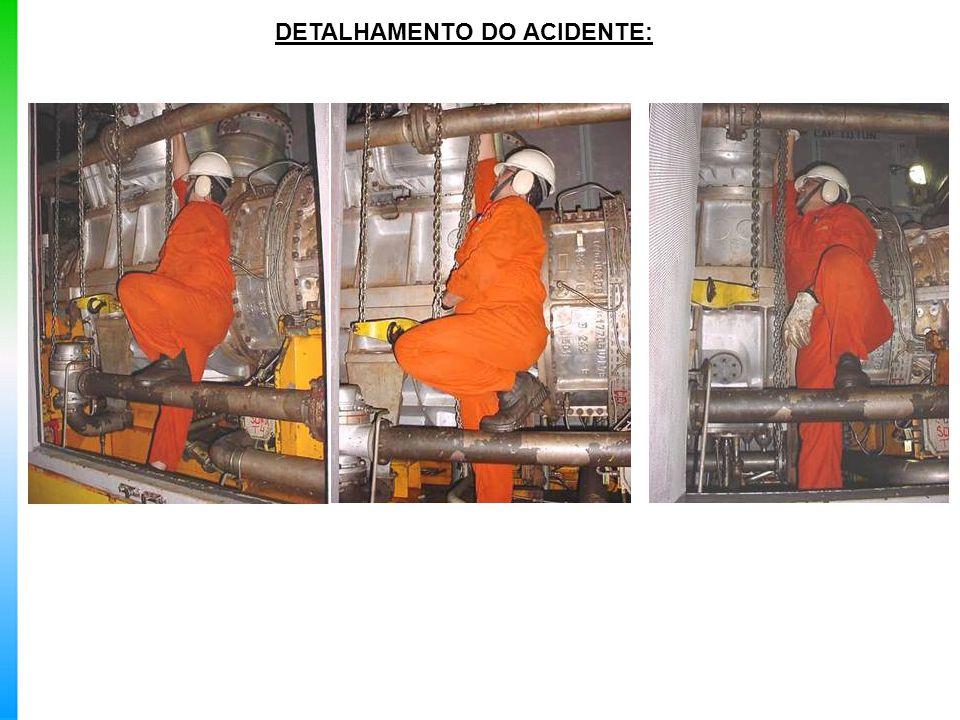 DETALHAMENTO DO ACIDENTE: