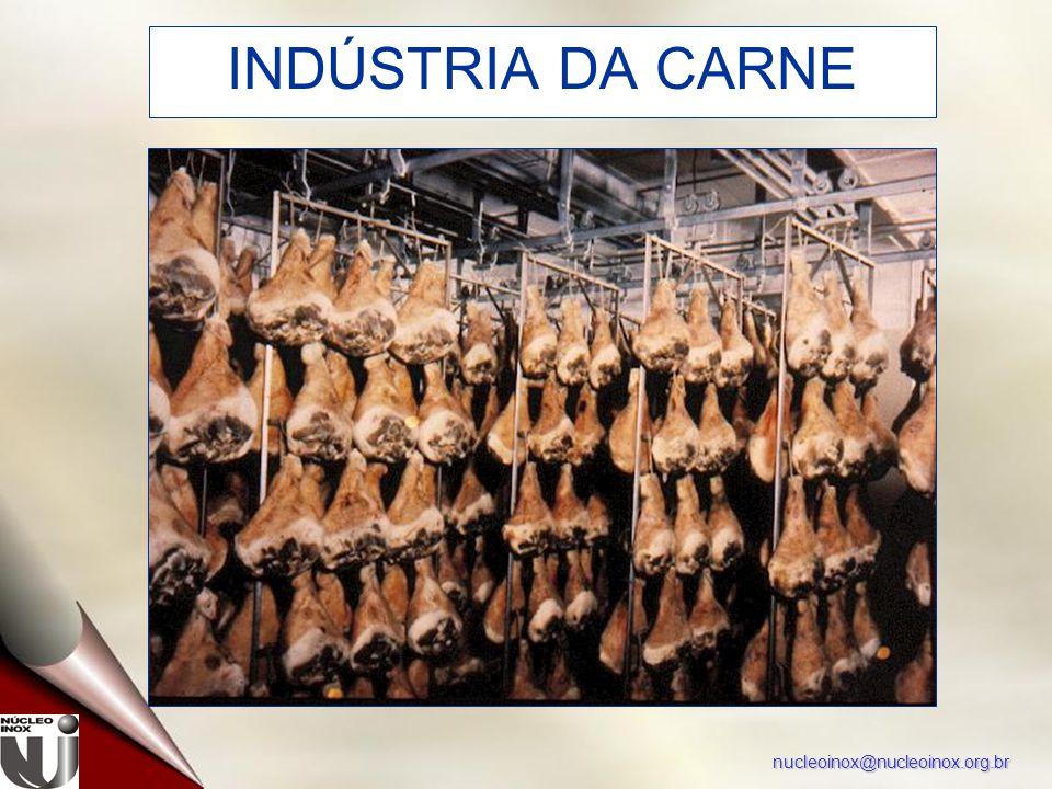 nucleoinox@nucleoinox.org.br INDÚSTRIA DA CARNE