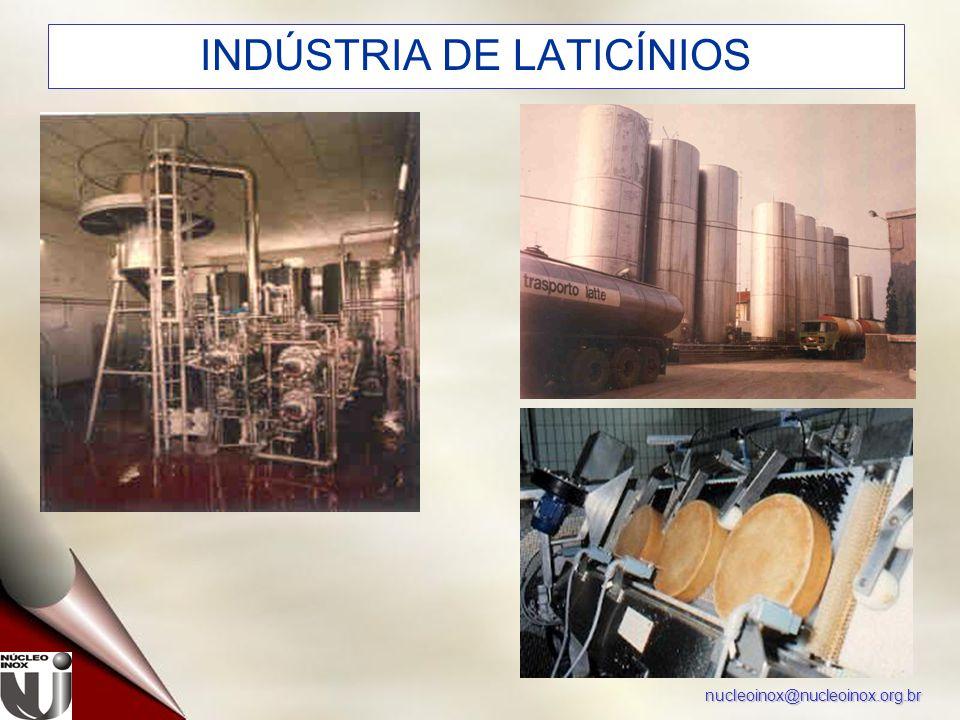 nucleoinox@nucleoinox.org.br INDÚSTRIA DE LATICÍNIOS