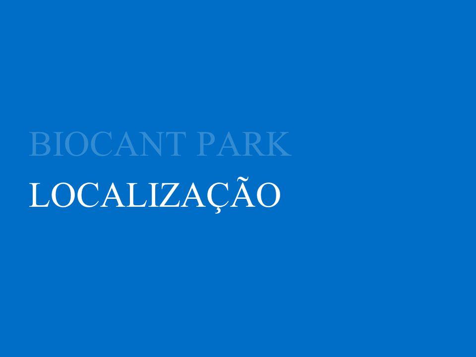 BIOCANT PARK LOCALIZAÇÃO
