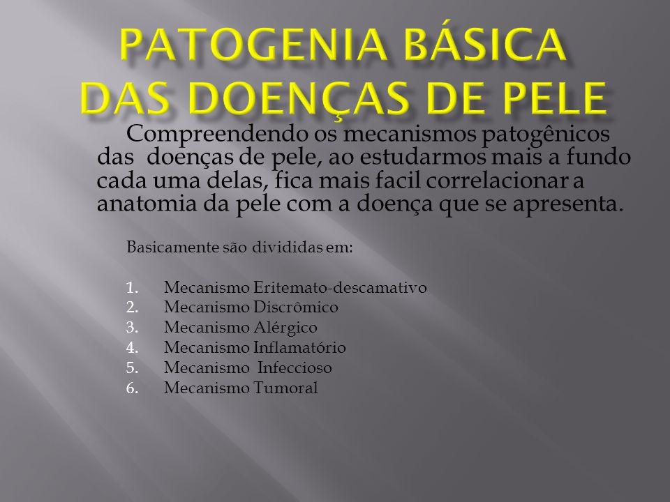 1.Mecanismo Eritemato-descamativo: A.