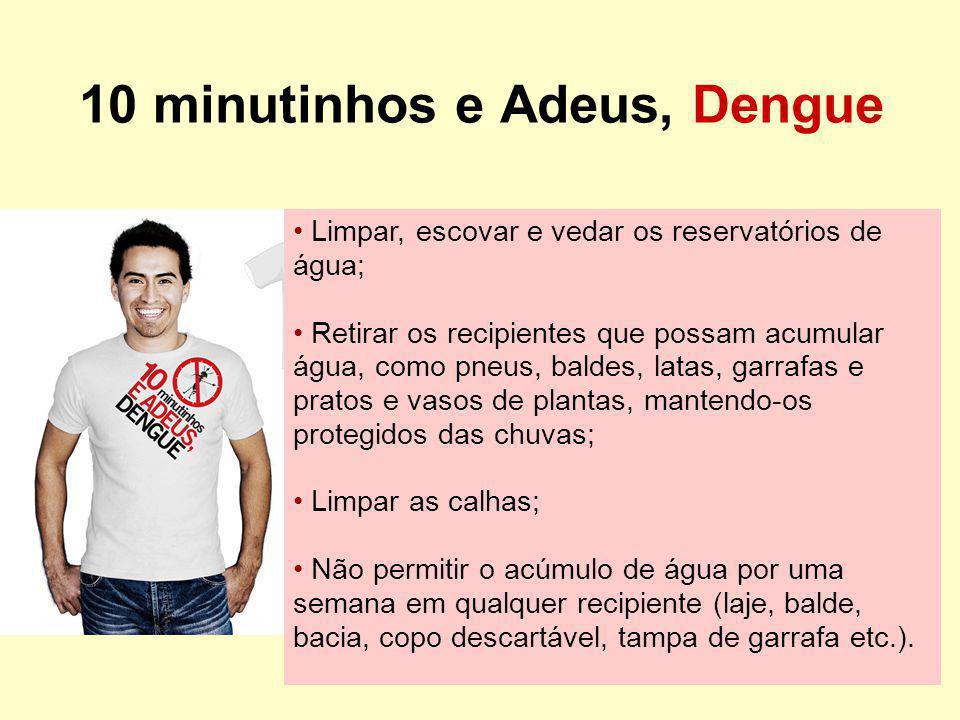 Campanha dos 10 minutinhos e Adeus, Dengue Encontrou larvas de Aedes aegypti (martelinho).