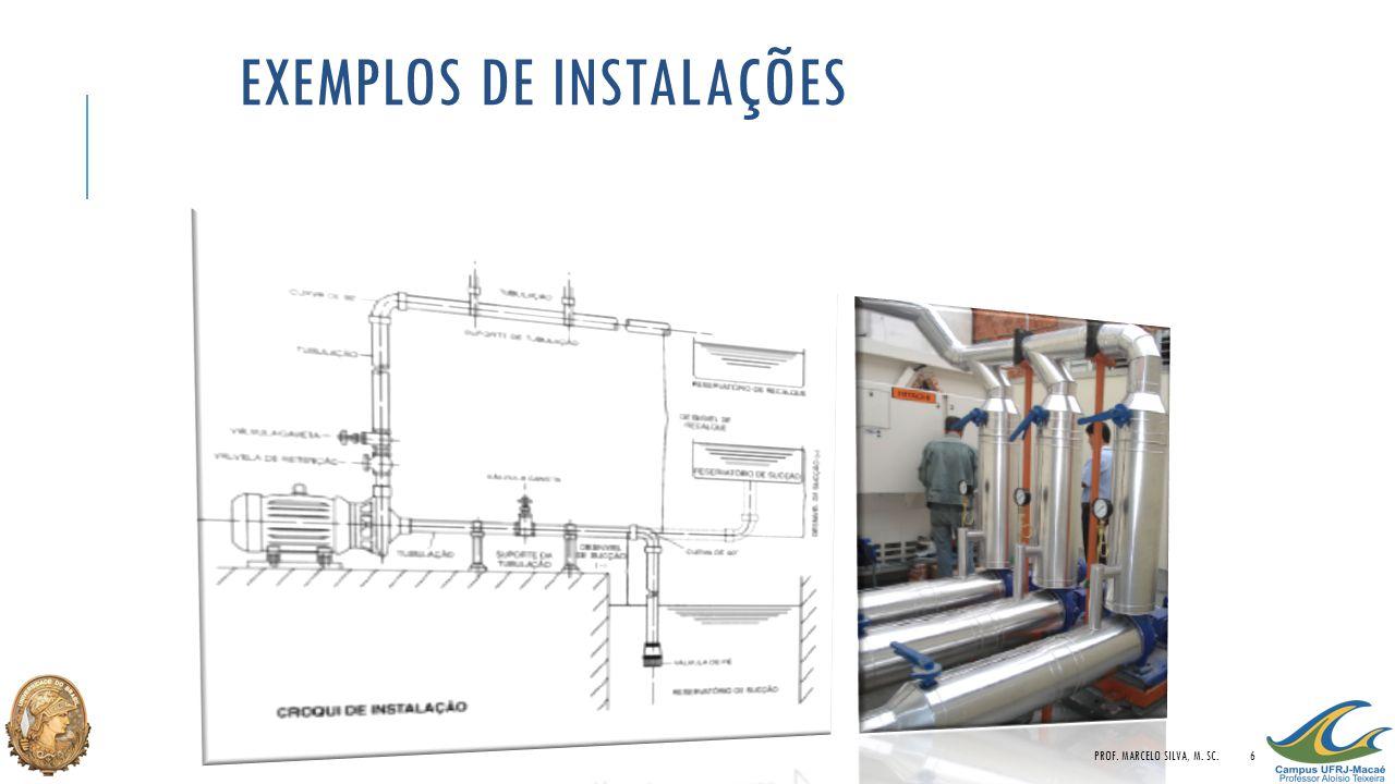 EXEMPLOS DE INSTALAÇÕES PROF. MARCELO SILVA, M. SC.6