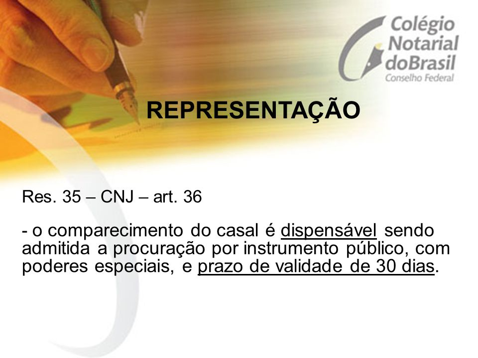 Res.35 – CNJ – art.