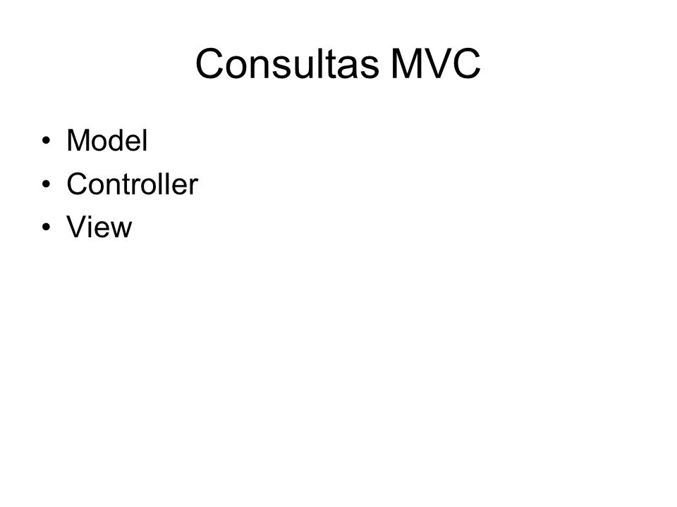 Esquema (simplificado) ViewControllerModel