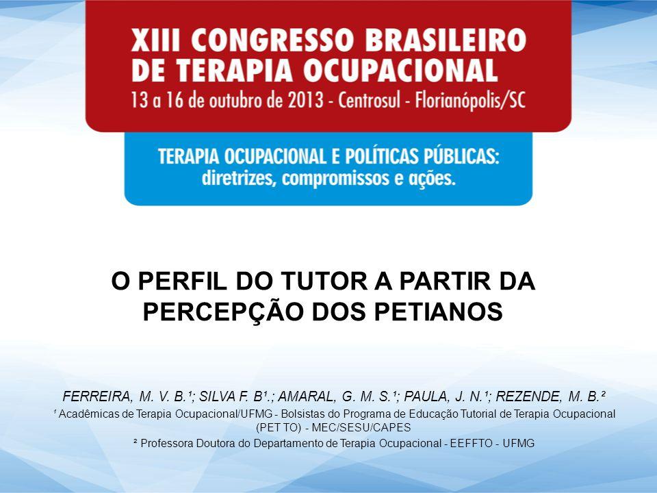 No Programa de Educação Tutorial – PET, tutor e tutorados trabalham com base na indissociabilidade ensino-pesquisa e extensão, buscando uma construção coletiva (Brasil, 2006).