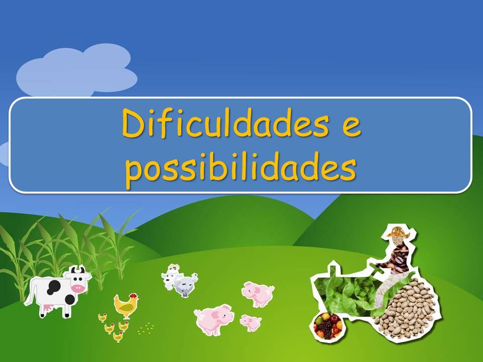 Dificuldades e possibilidades