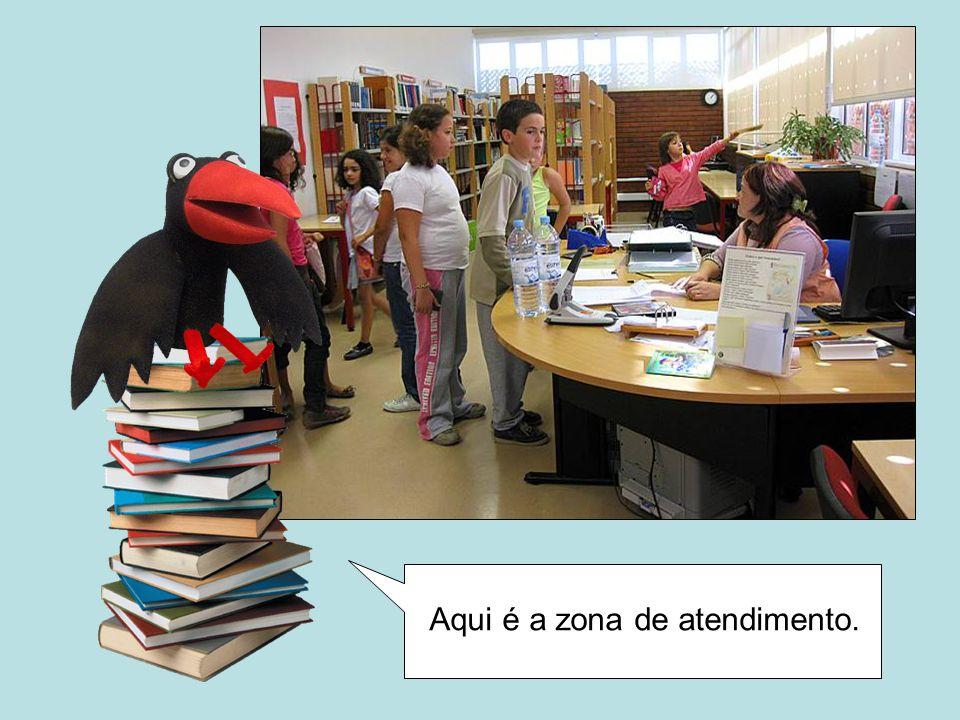 Como viste, uma biblioteca não é apenas um sítio onde se encontram livros.