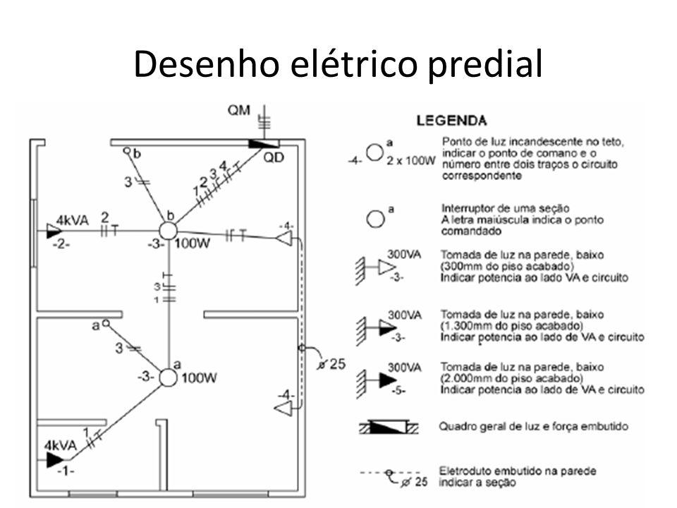 Desenho elétrico predial