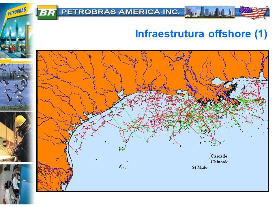 Infraestrutura offshore (1) Cascade Chinook St Malo