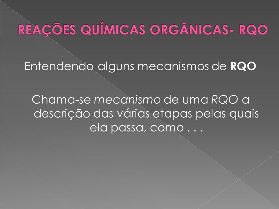 Entendendo alguns mecanismos de RQO Chama-se mecanismo de uma RQO a descrição das várias etapas pelas quais ela passa, como...