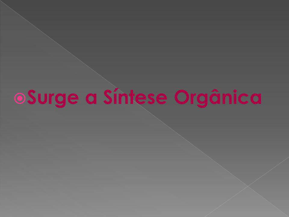 Graças aos avanços da Síntese Orgânica, hoje, obtêm-se compostos de alta complexidade.
