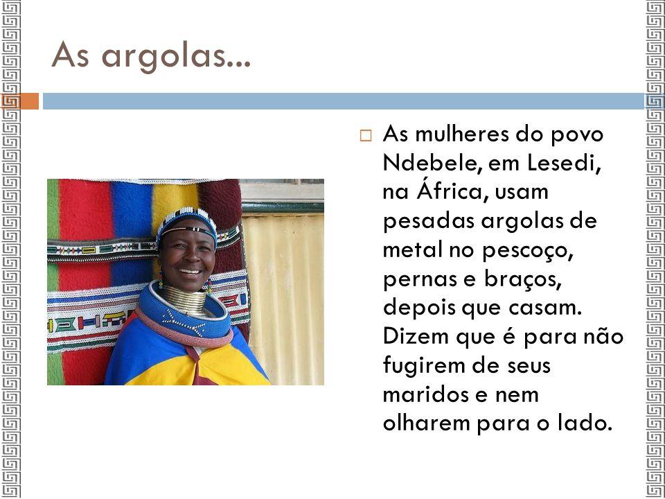 Beleza para mulheres africanas...