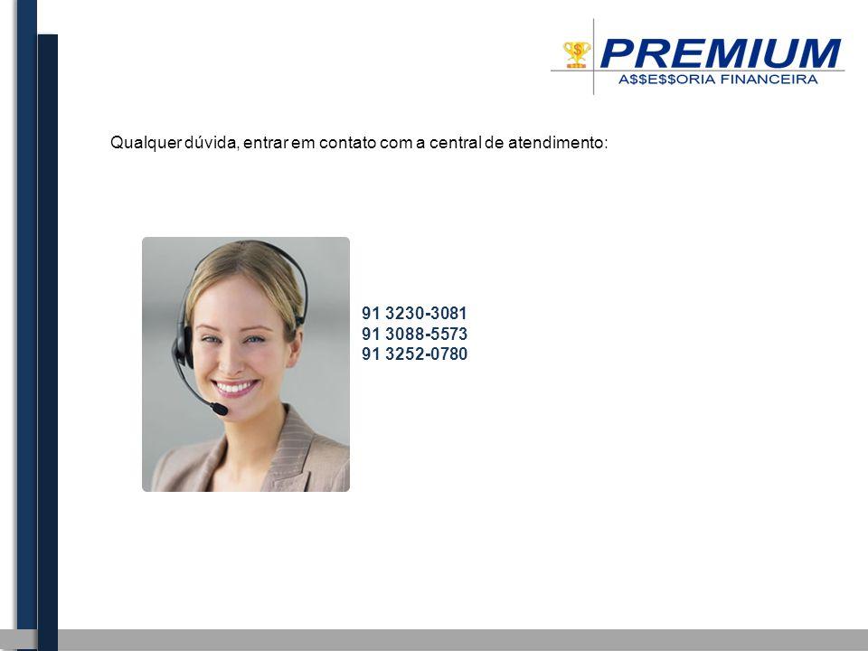 Qualquer dúvida, entrar em contato com a central de atendimento: 91 3230-3081 91 3088-5573 91 3252-0780