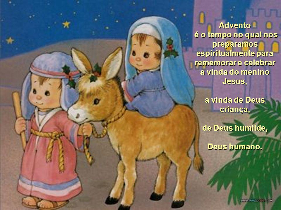 Maria esperou tanto o nascimento do seu filho, o filho de Deus, o Salvador. Deus esperou tanto pelo encontro pleno com a humanidade, a sua criação, at