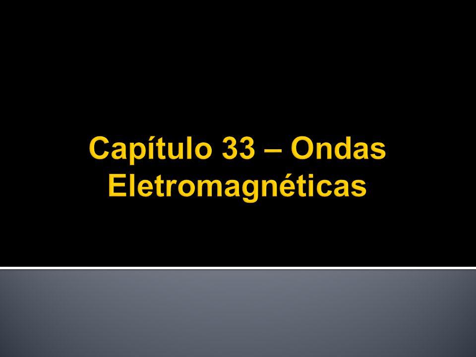 James Clerk Maxwell (1831-1879)  Raio luminoso: onda eletromagnética  Óptica: ramo do eletromagnetismo (luz visível)  Séc.