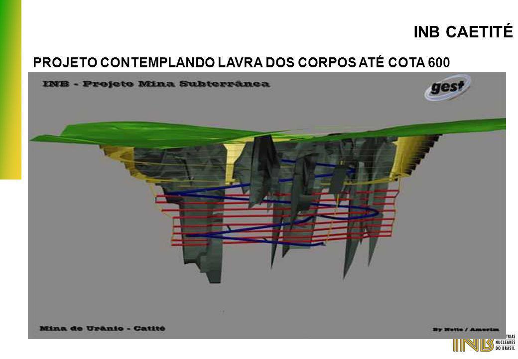 PROJETO CONTEMPLANDO LAVRA DOS CORPOS ATÉ COTA 600 INB CAETITÉ